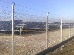 Pv Solar Park Fences